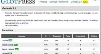 Сайт проекта Genesis Translations